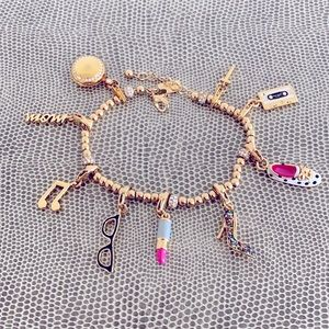 Kate Spade Bracelet with 9 Charms!!